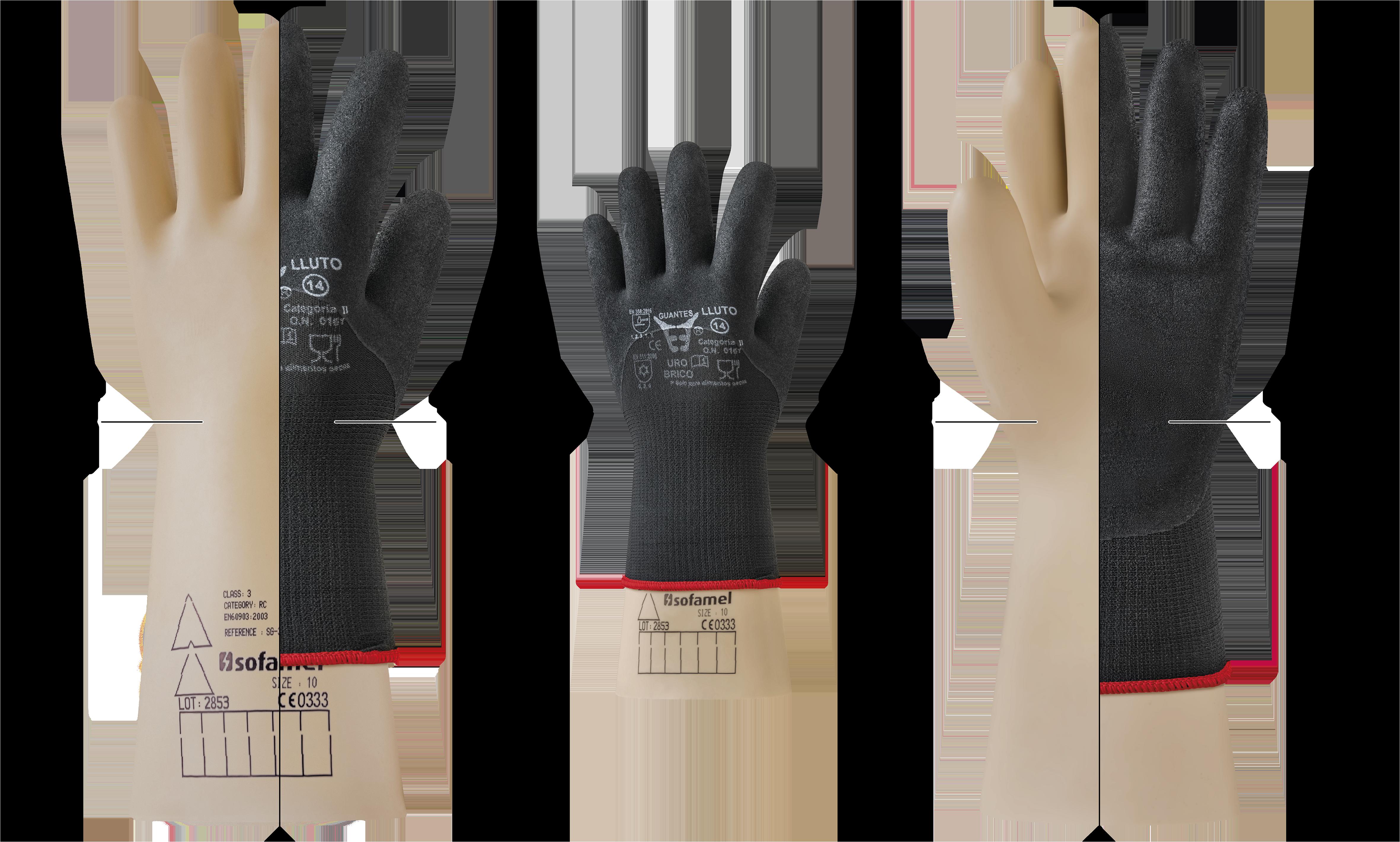 guantes uro lluto